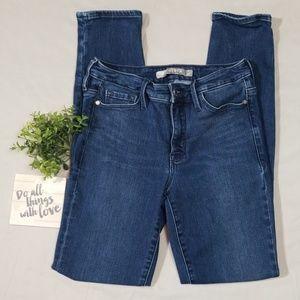 ATHLETA Sculptek Skinny Jeans Dark Wash Size 2